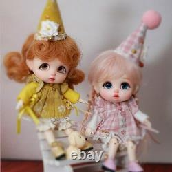 1/11 Tiny BJD Doll Resin Toys for Kids Surprise Gift for Girls Cute Baby Fullset