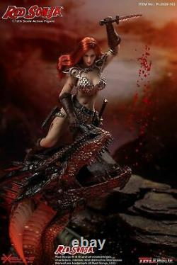 1/12 TBLeague Red Sonja Female Action Figure Full Set Collectible Doll Toy