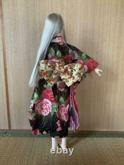 1/3 BJD Doll 60cm Ball Jointed Doll Cute Girl in Kimono with Full Set Outfit Toy