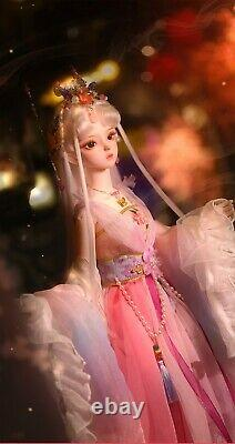 1/3 BJD Doll 62cm SD Full Set Clothes Outfit Handmade Girls X-mas Gift Kids Toys