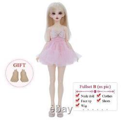 1/4 BJD Nude Doll Anime Figure Full-Set MSD Resin Toys Kids Girls Surprise Gifts