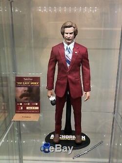 1/6 Cheungkinmen Marlindesign Ron Burgundy Full Set Custom Hot Figure Toys
