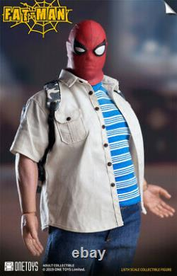 1/6 Fat Man Action Figure Spider-Man Ver. Collection Model Full Set One Toys