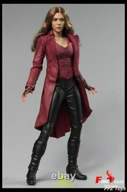 1/6 Fire Action Figure Female Toy Scarlet Witch 3.0 A029 Full Set In Stock