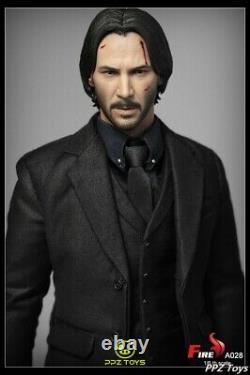 1/6 Fire Action Figure Keanu Reeves Killer Man A028 Full Set In Stock Toy Model