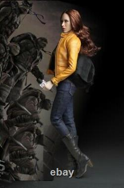 1/6 Megan Fox Ninja Turtles news reporter for 12 figure Phicen hot toys USA