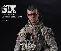 1/6 PLAYHOUSE PH U. S. Navy SEAL Team Six Male Solider Full Sets WithDog Toy