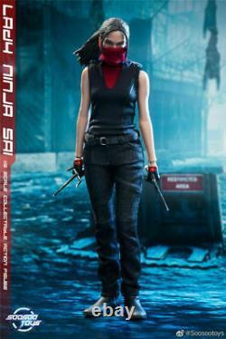 1/6 SOOSOOTOYS Lady Daredevil Elektra Natchios Action Figure SST014 Full Set Toy