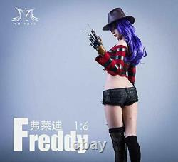 1/6 Scale Female Action Figure Clothing Full Set Jason/Freddy for YMT035