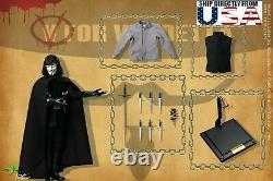 1/6 Scale Toys Power V For Vendetta CT013 12 Male Figure Full Set U. S. A