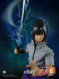 1/6 TITTOYS TT008 Naruto Sasuke Action Figure Full Set For kid toys 12'' Model