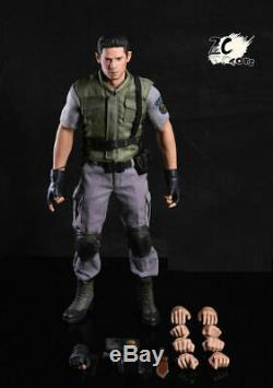 1/6 ZC Toys Chris Redfield Full Set Resident Evil Collectible Action Figure Toy