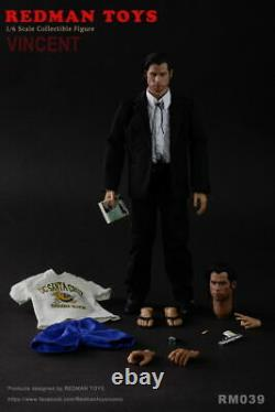 1/6th REDMAN TOYS VINCENT John Male 12inches Action Figure RM039 Full Set