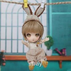 13cm 1/11 Tiny Hand Quality BJD Doll Suitsu Fullset Resin Toys Kids DIY Gift