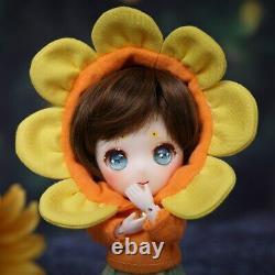 13cm Tiny Angel 1/11 BJD Doll Suitsu Fullset Resin Toys Kids Anime DIY Gift