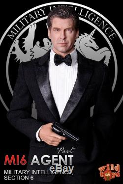 16 Agent James Bond MI6 Pierce Brosnan Paul Full Set Action Figure 12'' Toy New