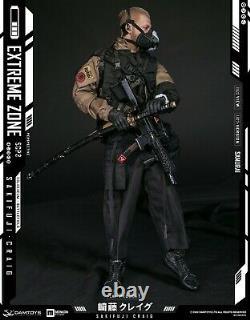 16 DAMTOYS EBS001Extremezone Samurai SAKIFUJI Craig Figure Full Set Toy