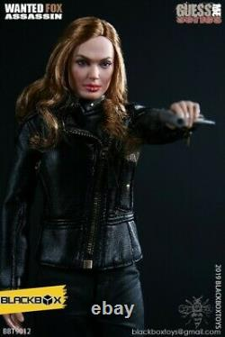 16 Female Doll Agent Angelina Action Figure Model Toy Gift Collectable Full Set