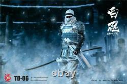 16 Scale White Armor Ninja Ancient Warrior TOYSDAO TD-06 Figure Full Set Toy