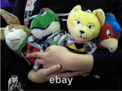 1993 Star Fox Fullset Nintendo Plush doll toy limited japan retro game Very Rare