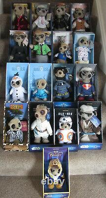 Almost full set of TV Compare the Market Meerkat soft toys (17 of 19) BRAND NEW