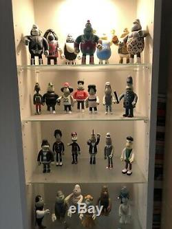 Amos Toys In Crowd Full Set in Boxes James Jarvis