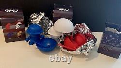 Angels & Airwaves Poet Toy Full Set Red White Blue Tom Delonge Blink 182 Rare