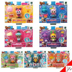 BREAD BARBER SHOP Mini Cupcake Friends Style Decorating Toy Korean Animation