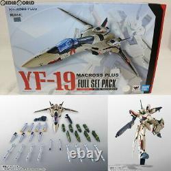 Bandai Spirits DX Chogokin YF-19 Full Set Pack Macross Plus Completed Toy AUTH