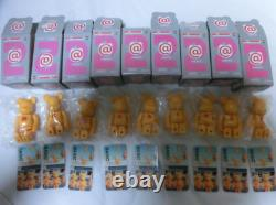 Be@rbrick 100% Series 2 Full Complete Basic Yellow Bearbrick Medicom Toy 9 Set