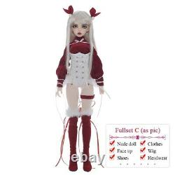 Cute BJD Nude Doll 1/4 Art Collection Toys MSD Kids Full-set Gift Present Girls