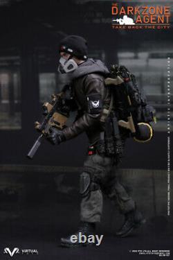 DAMTOYS DAM VTS VM017 Male Soldier DARKZONE Agent Full Set of Figure Model Toy