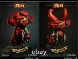 Darksteel Toys 16CM Hellboy Q Ver Action Designer Toys Full Set DSC-004 In Stock