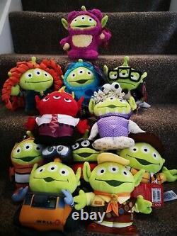 Disney Pixar Toy Story Alien Remix Plush Soft Toy Full Set Collection Woody Carl