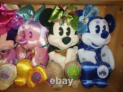 Disney Store Minnie Mouse Main Attraction Soft Toy Plush Full Set Of 12