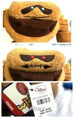 Disney Store Toy Story 3 Mini Stuffed Plush Full Set Lot 19 Wheezy Trixie RARE