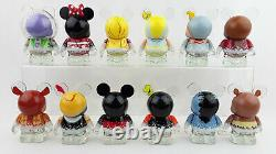 Disney Vinylmation 3'' Store 25th Anniversary Full Set with Chaser Figures Toys