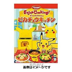 Enjoy Cooking! Pikachu Kitchen 8 pcs Full Set BOX Candy Toy Pokemon with Tracking