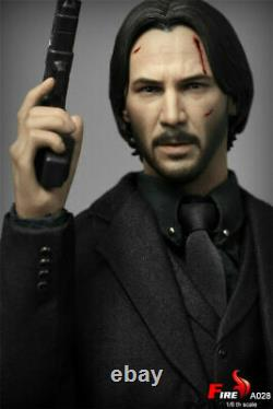 Fire A028 1/6th Keanu Reeves Killer Man 12'' Action Figure Toy Full Set