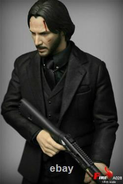 Fire Toys A028 1/6 John Wick Keanu Reeves 12 Male Action Figure Full Set USA