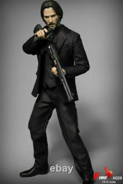 Fire Toys A028 1/6 John Wick Keanu Reeves 12 Male Figure Full Set U. S. A