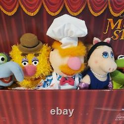 Full Set Of 8 The Muppets Show Mini Plush 8 Sababa Toys Jim Henson 2004 NEW