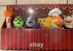 Full Set Of 8 The Muppets Show Mini Plush 8 Sababa Toys Jim Henson 2004 New Box