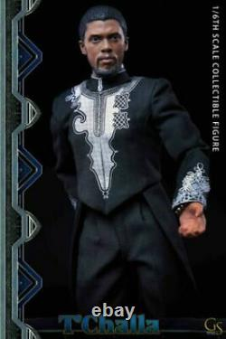 GSTOYS 1/6th Black Panther The King Of Wakanda Male Action Figure Doll Toy