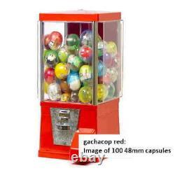 Gacha machine full set, 50 medals and 40 capsule toys(Dragonball)