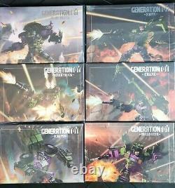 Generation Toy Gravity Builder GT-01 Devastator Full Set of 6 Figures US