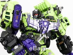 Generation Toy Gravity Builder ReBuilder GT-99 Full Set of 6 Figures