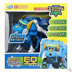 Gogo Dino Sound DX (6/Big) Dinosaur 9 Box Full Set Transformer Robot Figure Toy