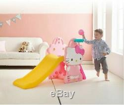 Hello Kitty Sweety CLIMB & SLIDE with SWING Full Set for Kids Toy Indoor/Outdoor