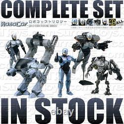 Hot RoboCop Trilogy Full 3Model Figure Set Cain ED209 Bust Kotobukiya Toy Japan